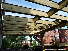 Garden Structures Ideas - Pergolas and Decks Building Plans